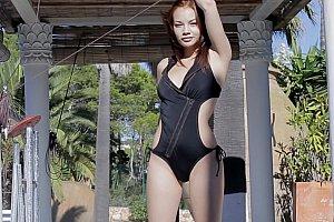 missalice hot swimsuit