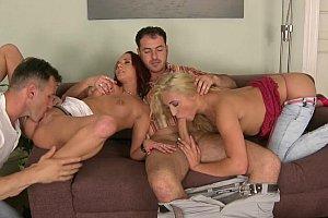italian pornstars hot public threesome